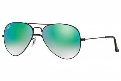 RAY-BAN AVIATOR FLASH LENSES GRADIENT S-RAY 3025-002/4J(55IT)