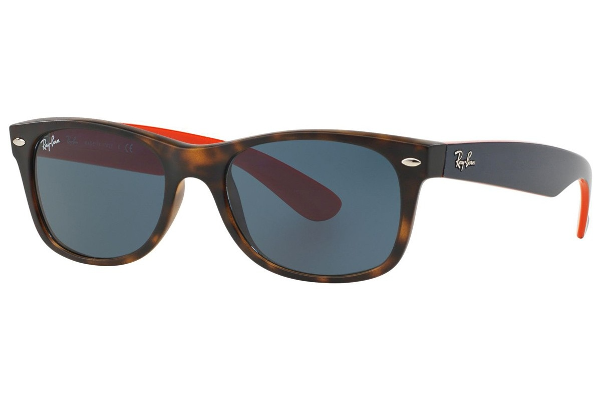 RAY-BAN NEW WAYFARER BICOLOR S-RAY 2132F-6180/R5(55IT)