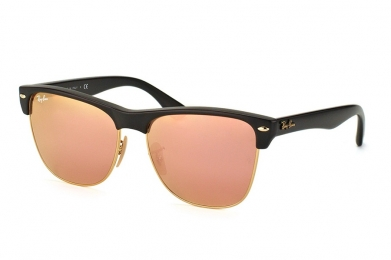 RAY-BAN CLUBMASTER OVERSIZED FLASH LENSES S-RAY 4175-877/Z2(57IT)