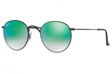 RAY-BAN ROUND FLASH LENSES GRADIENT S-RAY 3447-002/4J(50IT)