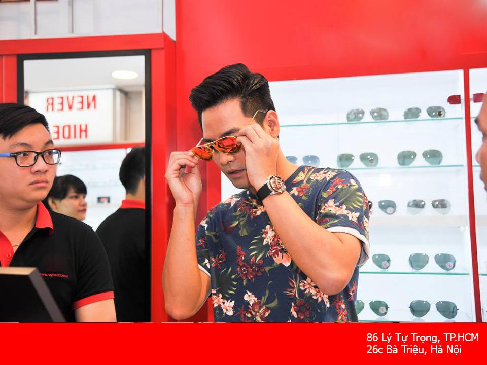 MC Phan Anh tại Eyewear STORE
