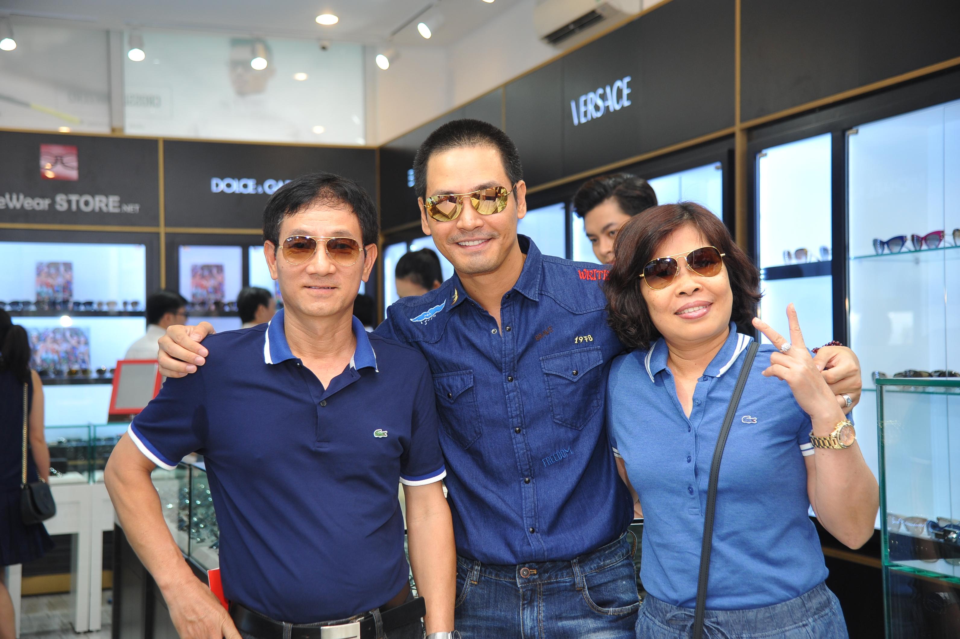 MC Phan Anh tại Eyewear STORE Sài Gòn