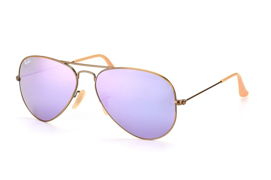 RAY-BAN AVIATOR FLASH LENSES S-RAY 3025-167/4K(58IT)