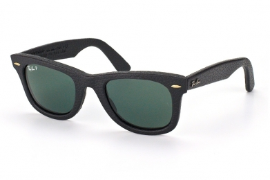 RAY-BAN WAYFARER LEATHER S-RAY 2140QM-1152/N5(50IT)