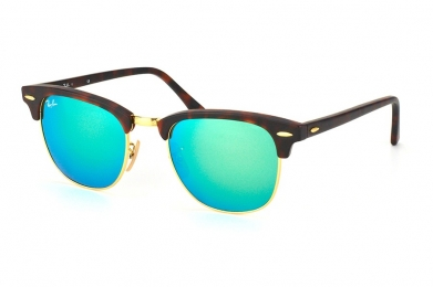 RAY-BAN CLUBMASTER FLASH LENSES S-RAY 3016-1145/19(51IT)