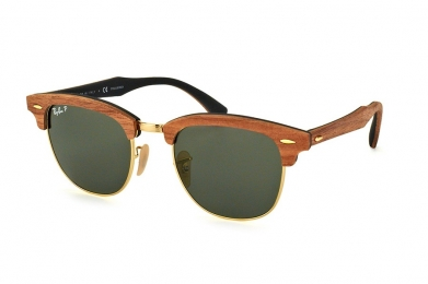 RAY-BAN CLUBMASTER WOOD S-RAY 3016M-1181/58(51IT)