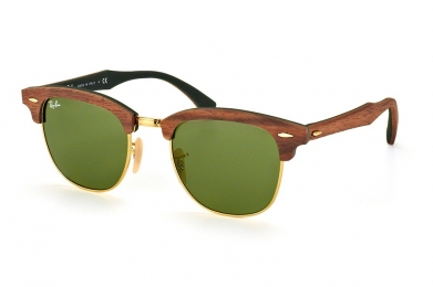 RAY-BAN CLUBMASTER WOOD S-RAY 3016M-1182/4E(51IT)